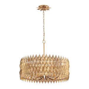Forever French Gold Nine-Light Pendant