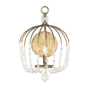 Voliere Havana Gold One-Light Wall Sconce