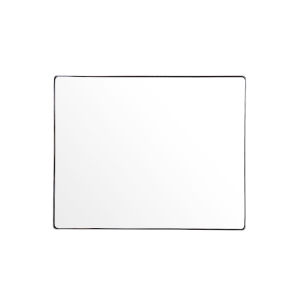 Casa Polished Nickel Rectangular Wall Mirror