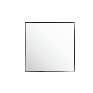 Kye Black 30 x 30 Inch Square Wall Mirror