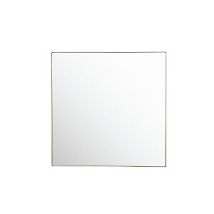 Kye Gold 40 x 40 Inch Square Wall Mirror