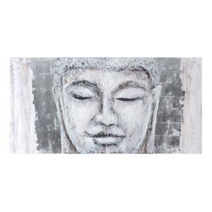 Casa 78-Inch Buddha Two Panel Wall Art