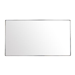 Kye Polished Nickel Wall Mirror