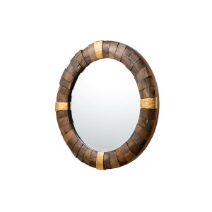 Casa Gold Wall Mirror