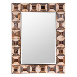 Casa Wood Wall Mirror