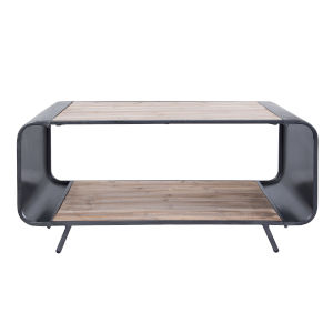 Casa Weathered Steel Coffee Table