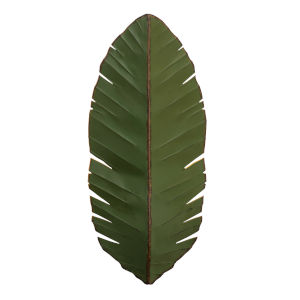 Banana Leaf Green Three-Light Wall Sconce