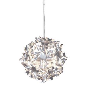 Pinwheel Three-Light Pendant in Recycled Aluminum