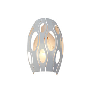 Masquerade Pearl Single-Light Wall Sconce