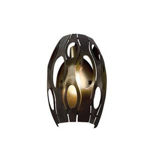 Masquerade Statue Garden Single-Light Wall Sconce