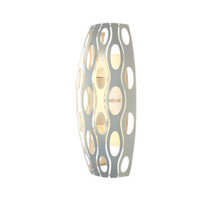 Masquerade Pearl Two Light Tall Sconce