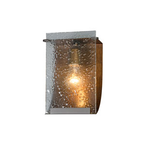 Rain One-Light Hammered Ore with Rain Glass Bath Fixture