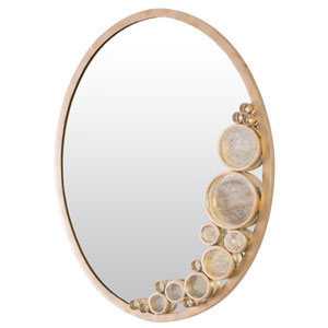 Fascination Zen Gold  22-Inch Mirror