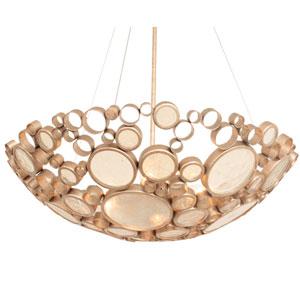Fascination Zen Gold 27-Inch Four-Light Pendant