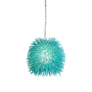 Urchin Aqua Mini Pendant