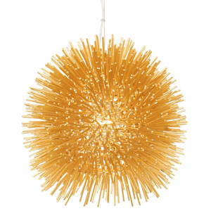 Urchin Gold 9-Inch One-Light Mini Pendant