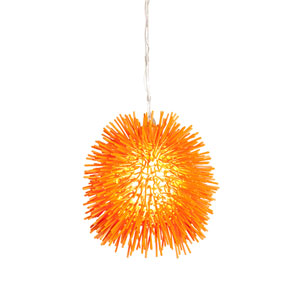 Urchin Orange Mini Pendant