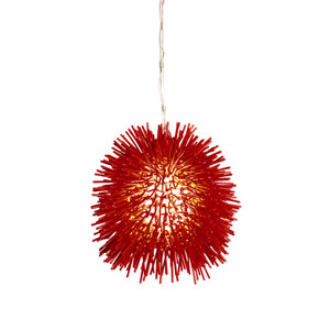 Urchin Red Mini Pendant