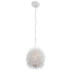 Urchin One-Light Mini Pendant in White