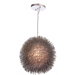 Urchin Chrome One-Light Pendant