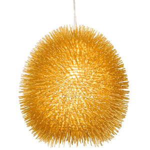 Urchin Gold 13-Inch One-Light Pendant
