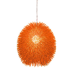 Urchin Orange Pendant
