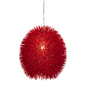 Urchin Red Pendant