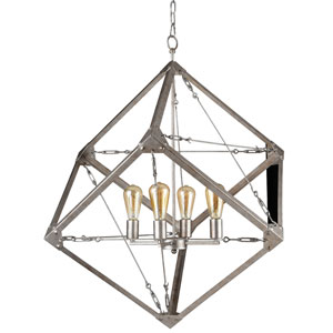 Askew Silver Age Four-Light Pendant