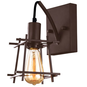 Hashtag New Bronze One-Light  Wall Sconce