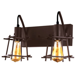 Hashtag New Bronze Two-Light  Vanity