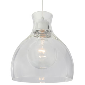 Spinners Chrome One-Light 11-Inch  Pendant
