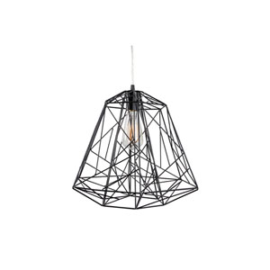 Wright Stuff Black One-Light Pendant