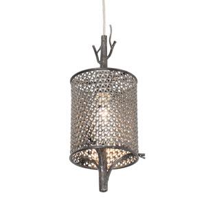 Treefold Steel One-Light Mini Pendant