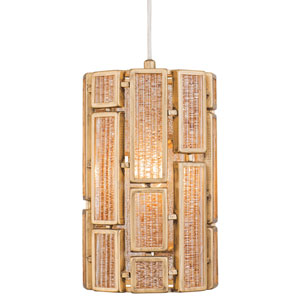 Harlowe Havana Gold One-Light Mini Pendant