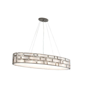 Harlowe New Bronze Four-Light Linear Pendant