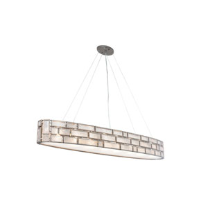 Harlowe New Bronze Six-Light Linear Pendant
