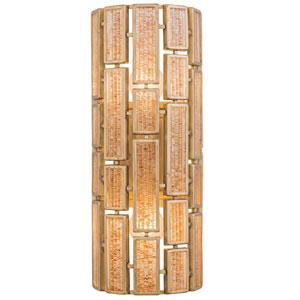 Harlowe Havana Gold Two-Light Wall Sconce