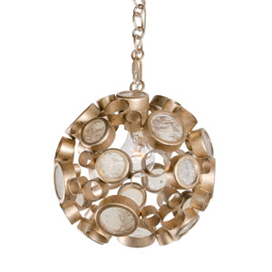 Fascination Zen Gold One-Light Pendant