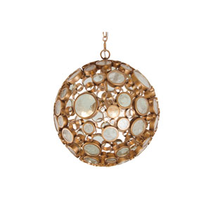 Fascination Hammered Ore Three-Light Pendant