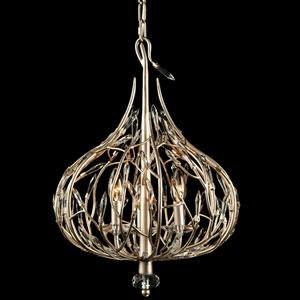 Bask Gold Dust 16-Inch Three-Light Pendant
