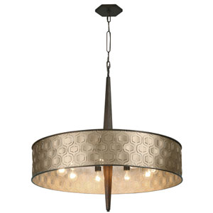 Iconic Champagne Mist 36-Inch Nine-Light Pendant
