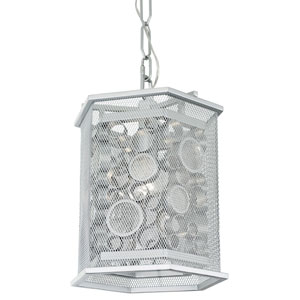 Fascination Metallic Silver One Light pendant