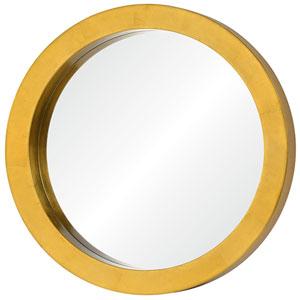 Ringleader Gold Leaf RoundMirror
