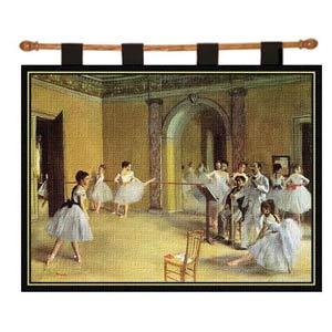 Dance Foyer Wall Tapestry