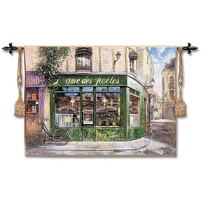 Souls Of Poets Woven Wall Tapestry