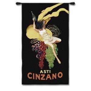 Cinzano Woven Wall Tapestry