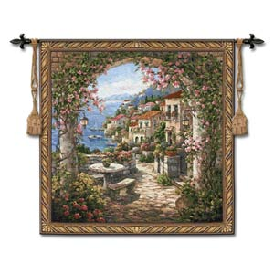 Seaview II Woven Wall Tapestry