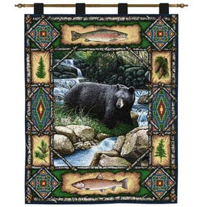 Bear Lodge Wall Tapestry