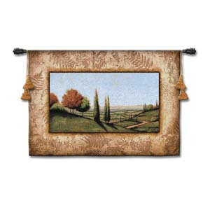 Cypress Vista I Woven Wall Tapestry