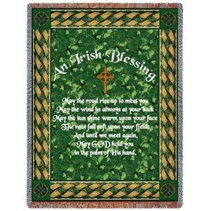 Irish Blessing Throw